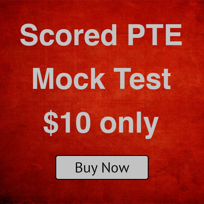 $10 Scored PTE Mock Test. $10 Only. Sydney PTE Institute. Parramatta and Liverpool