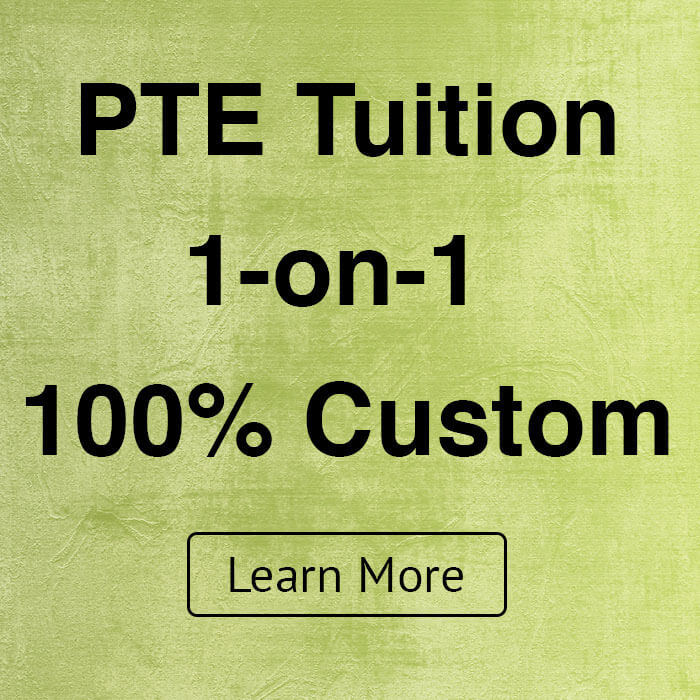 1-on-1 Private PTE Tuition. Sydney PTE Academy. Parramatta and Liverpool.